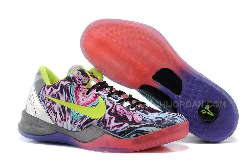 """Find Quality Nike Kobe 8 Prelude """"Reflection"""" Multi-Color/Volt-Chrome For  Sale New and"""