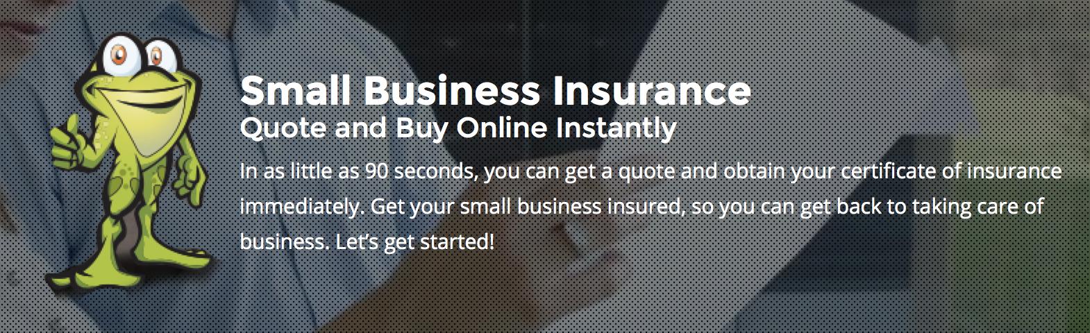 Liability Insurance Small Business Insurance Bullfrog Small