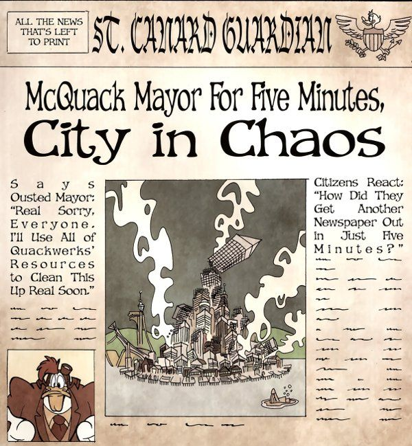 LaunchPad is mayor for 5 minutes, city in chaos
