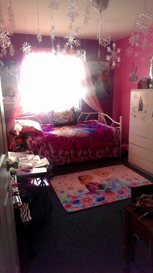 Cheap Bedroom Sets Kids Elsa From Frozen For Girls Toddler: Frozen Themed Bedroom For Your Little Elsa!! #frozen