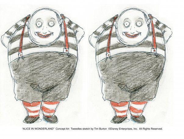 Mis Gorditos Dibujos De Tim Burton