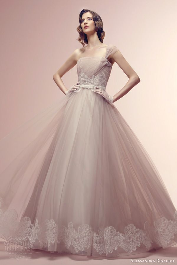 Alessandra Rinaudo 2014 Wedding Dresses | Wedding Gowns - with color ...