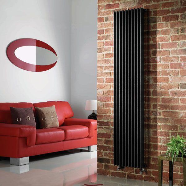 Quinn Heated Towel Rails: Adagio Vertical Radiator,Feature Radiators