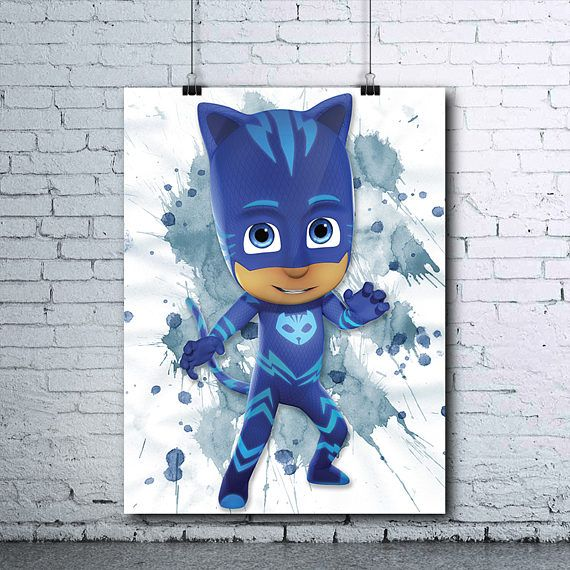 PJ Masks Birthday  Catboy  Catboy Poster  PJ Masks