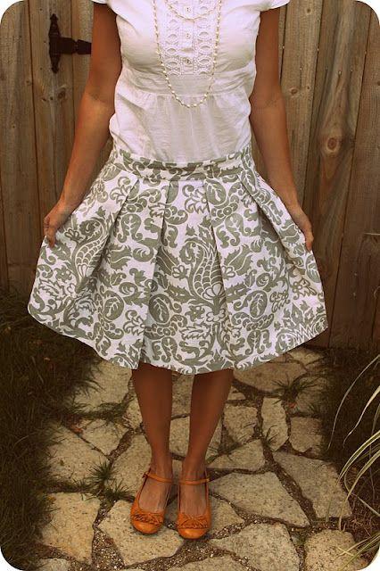 2 cute skirt patterns :)