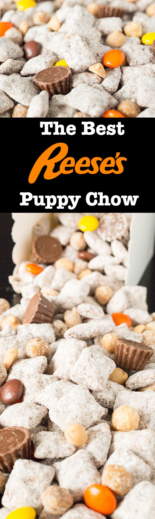 This Chocolate Peanut Butter Puppy Chow is an additive and