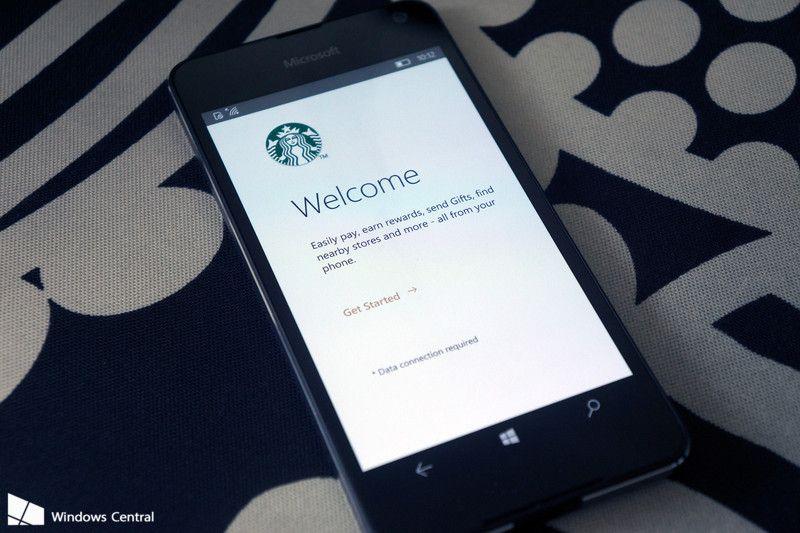 Official starbucks app lands on windows 10 mobile