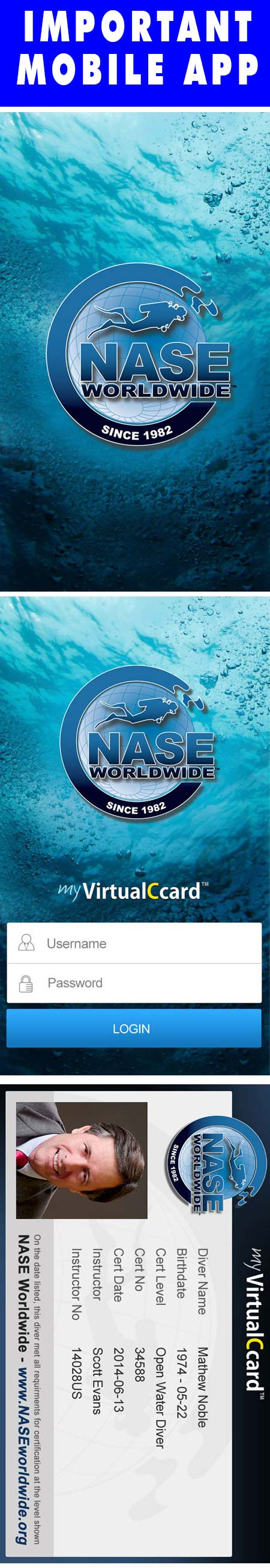Never Forget Your Certification Card At Home Again The Nase