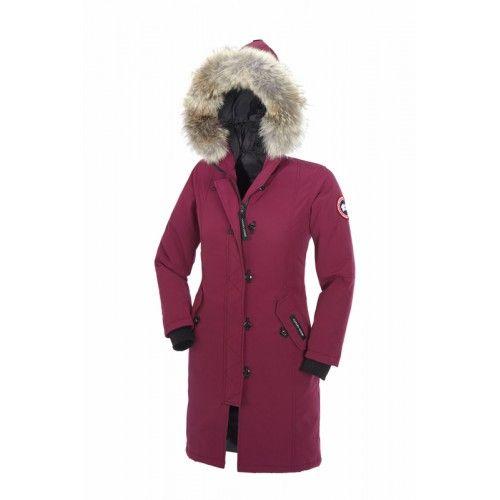canada goose femme kensington parka 2506l noire