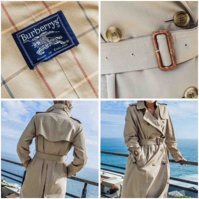 My Vintage Burberry Trench Coat, Trench Coat Vintage Burberry