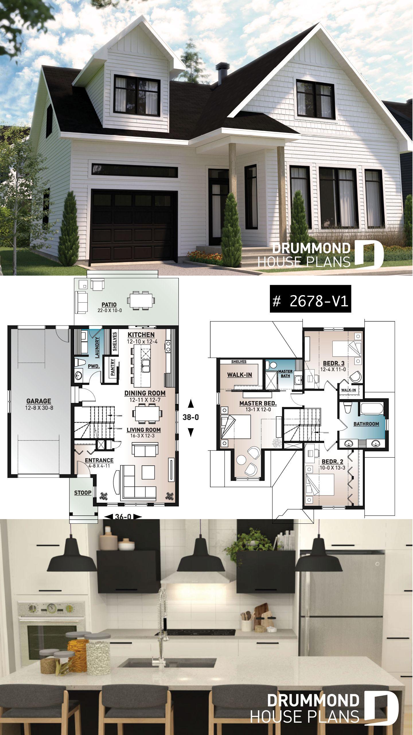 Affordable modern farmhouse