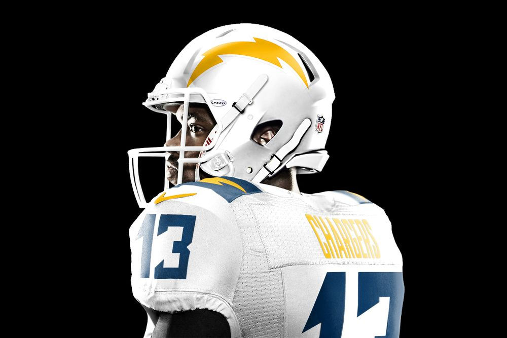 4e24eb26d50 San Diego Chargers Concept Helmets | ... named Jesse Alkire has done a new  design for the Chargers uniforms