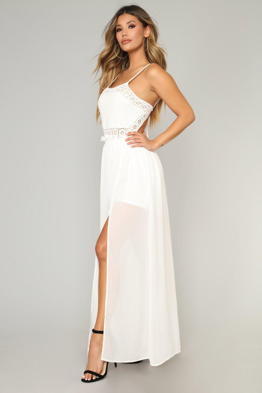 74d1563b2e0b Sounds Of Summer Maxi Dress - Off White