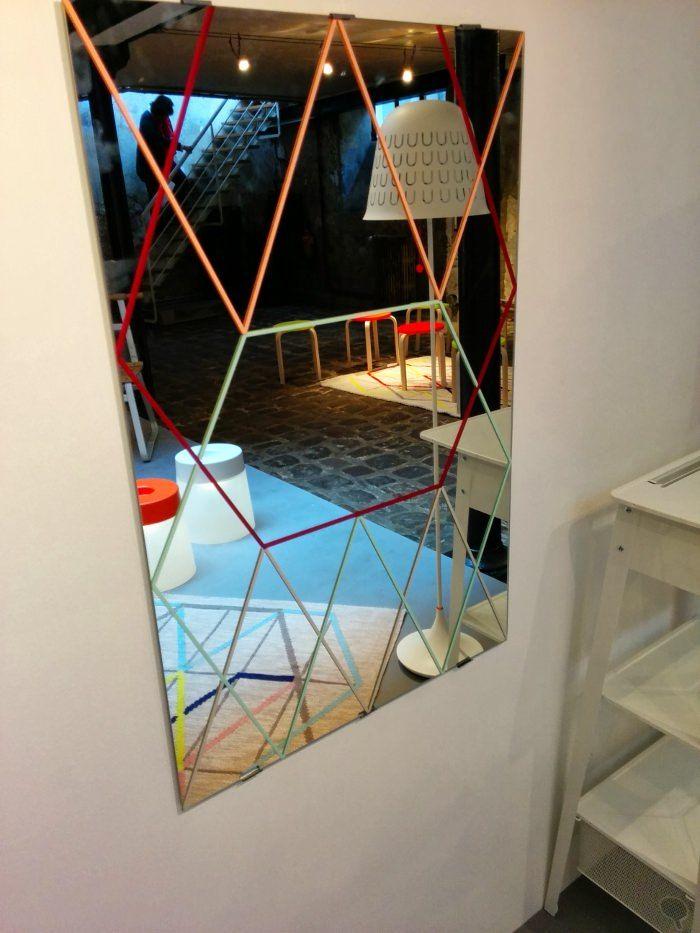Miroir led ikea hemnes mirror blackbrown ikea with miroir for Miroir lumineux castorama