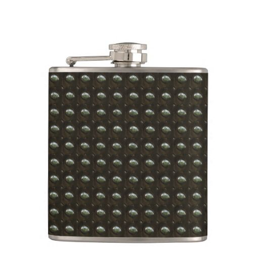 Studded Leather 2 Wrapped Flask