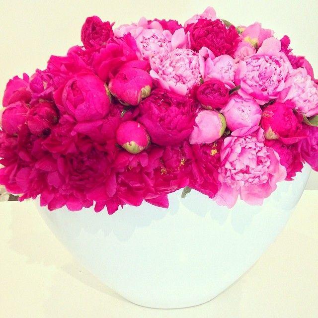 Nothing says spring like peony! #casparhaydardesign #flowerlovers #CHD #peony #floraldesign