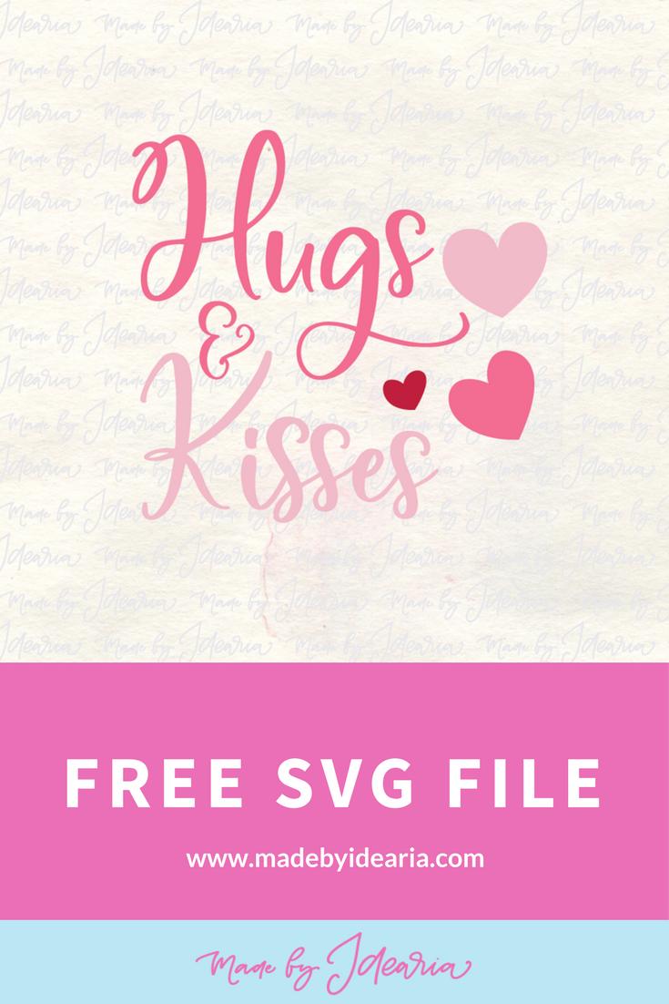 Download FREE SVG FILE: Hugs and kisses | Free svg, Svg free files, Svg