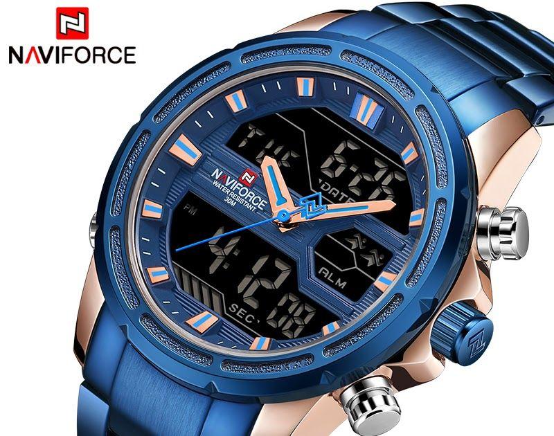 Cheap Price Naviforce Luxury Brand Men Sports Watches Men 39 S Quartz Led Digital Clock Male Mens Watches Affordable Mens Sport Watches Luxury Watches For Men
