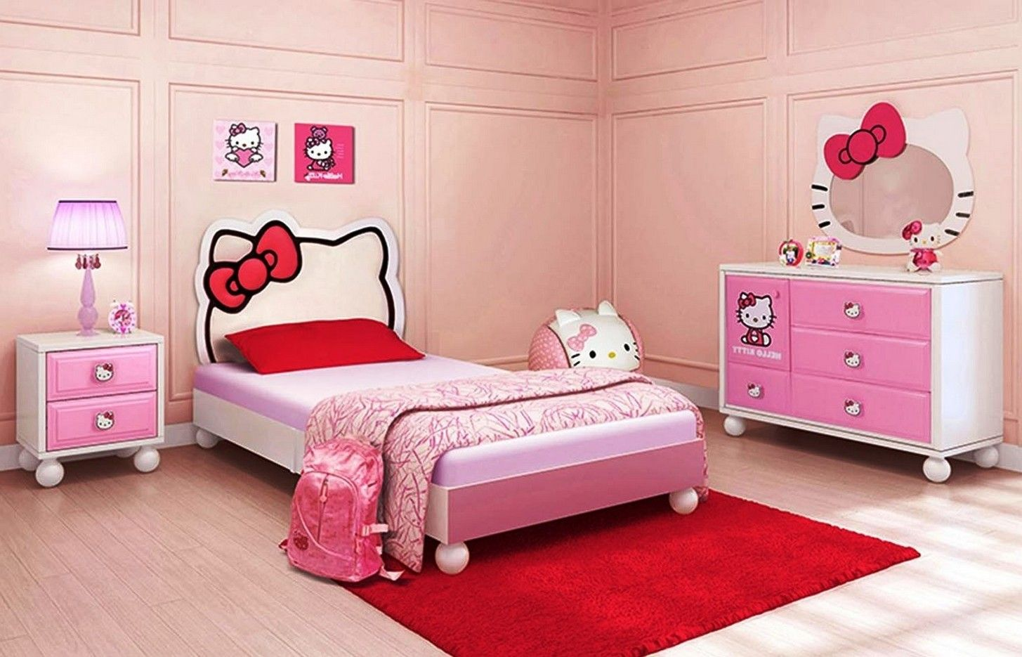 Icymi Hello Kitty Bedroom Decor  Hiqra  Pinterest Best Hello Kitty Bedroom Designs Review