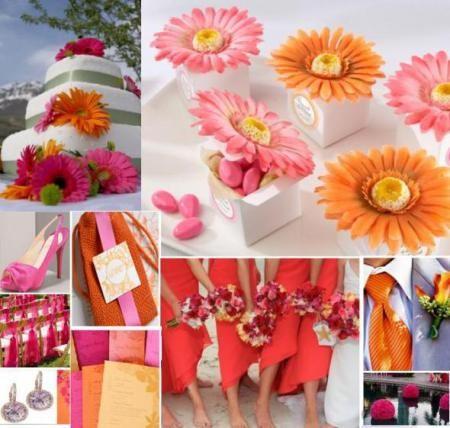 Spring Wedding Color Ideas |