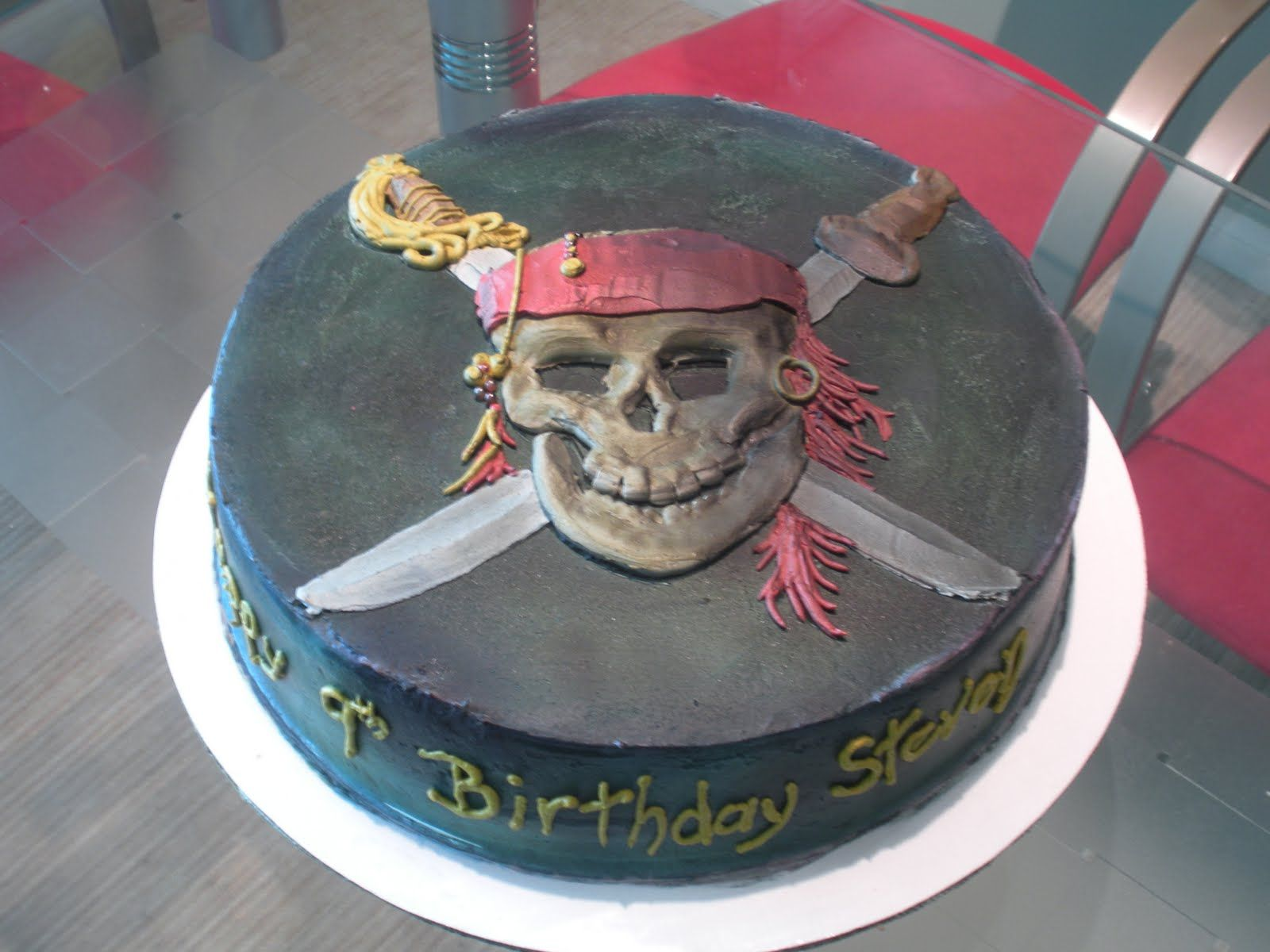 Pirates Of The Caribbean Birthday
