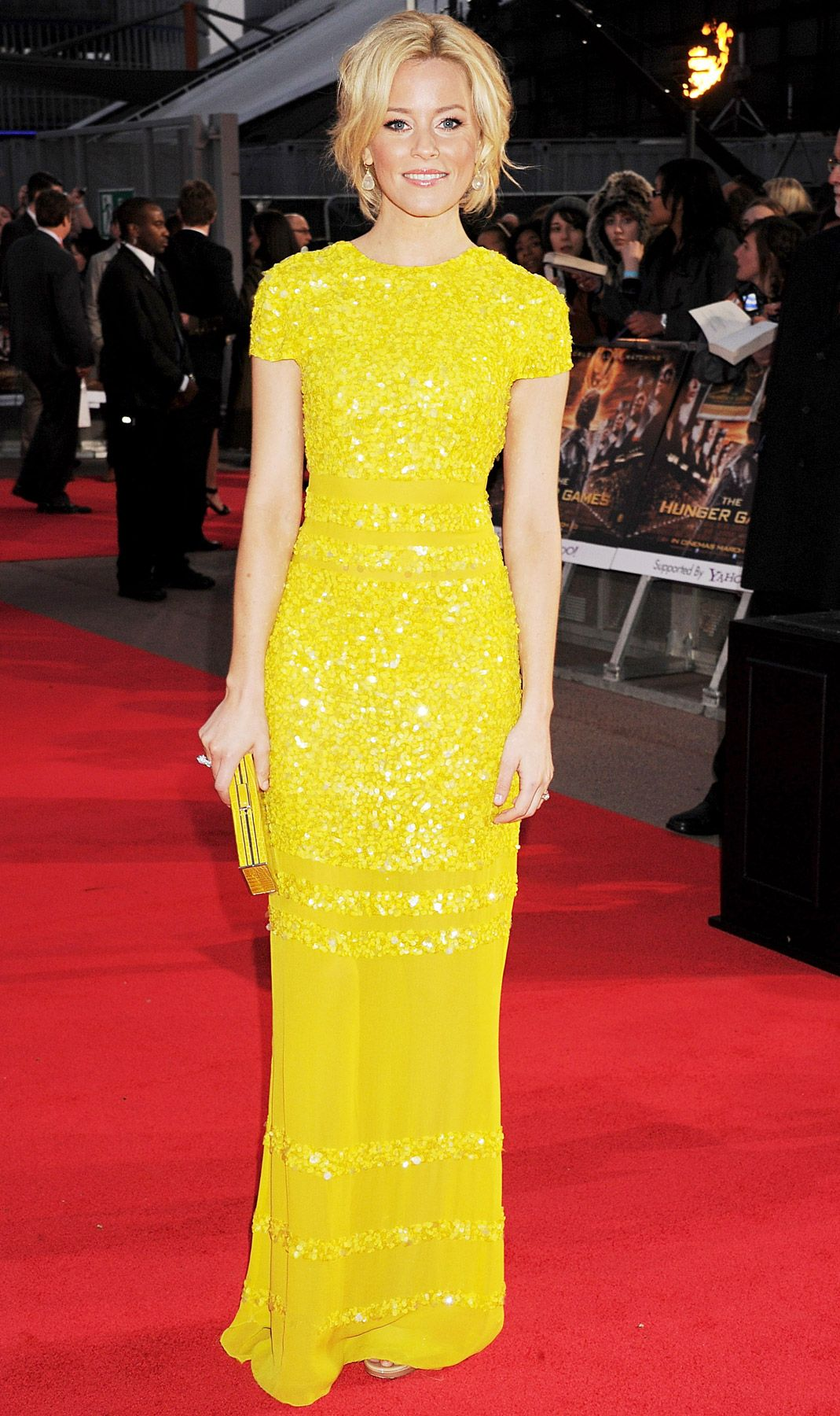Elizabeth Banks in Bill Blass...so wishing we had pre-ordered this one!