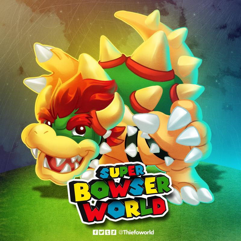 Super Bowser World Bowser Super Mario Bros Super