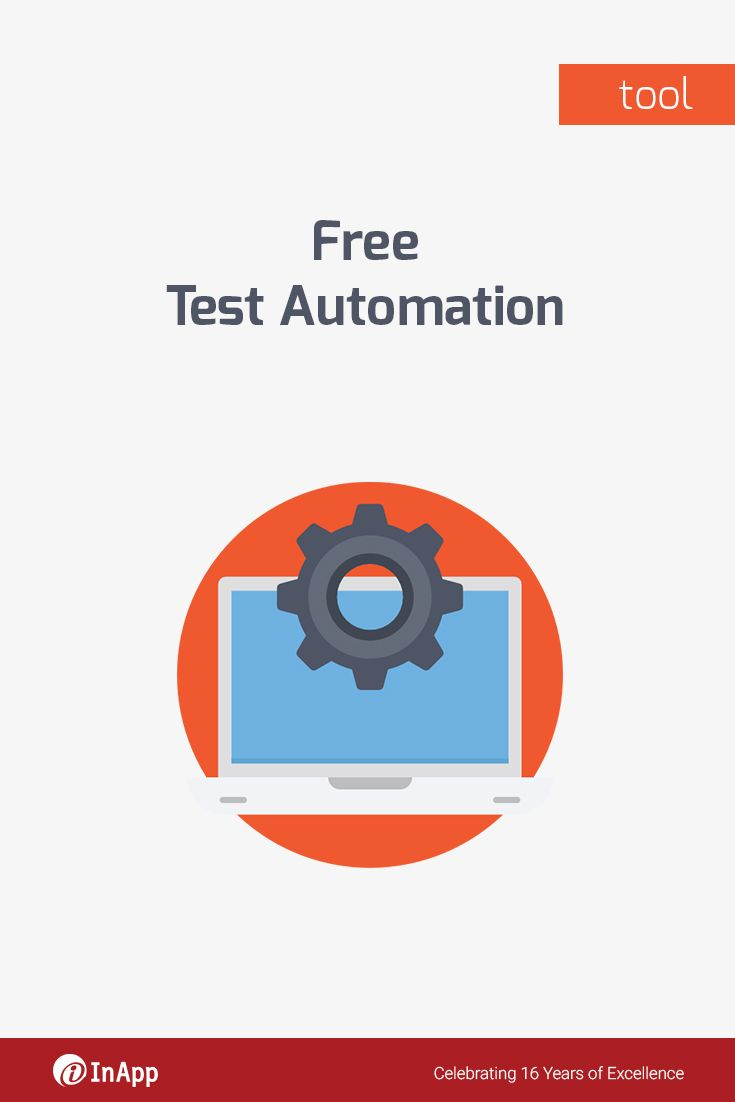 We will automate a particular use case of your application for FREE ...