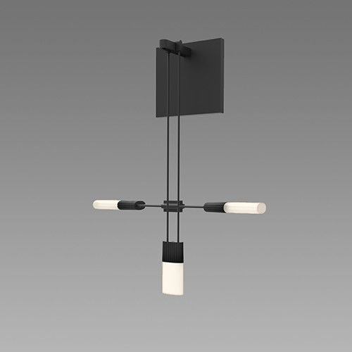 Shown With Etched Chiclet Cluster Luminaire Wall Sconces Led Wall Sconce Modern Wall Sconces