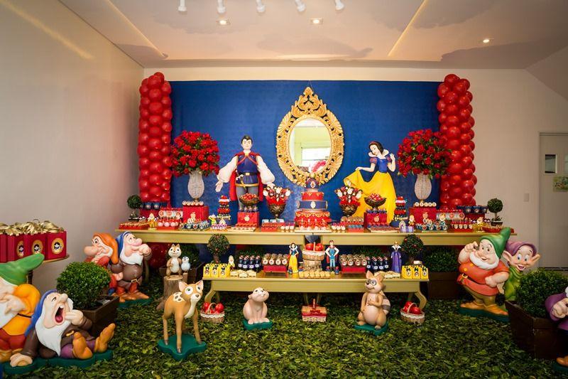 Festa Branca De Neve Livia 6 Anos Festa Branca De Neve Festa