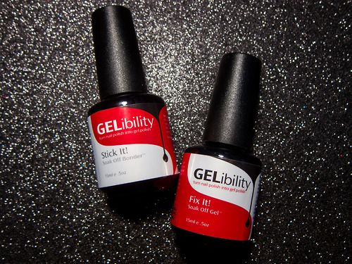 Gelibility turns any regular nail polish into gel nail polish. OH THE POSSIBILITIES! Get the scoop now on chalkboardnails.com.
