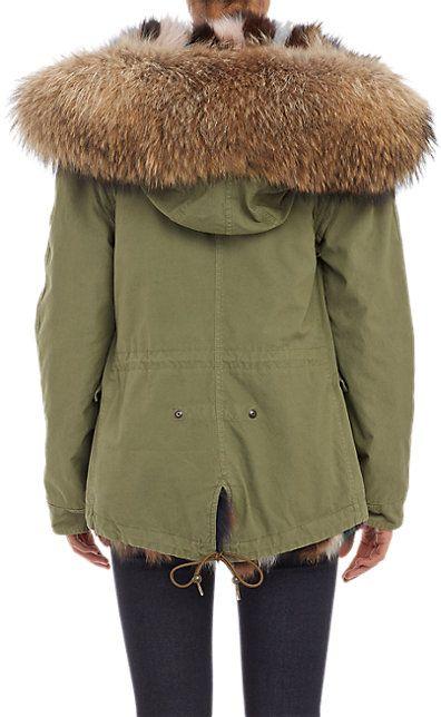 Mr. and Mrs. Italy Reversible Fur Parka - Fur - Barneys.com