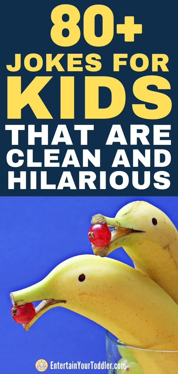 80+ Jokes for Kids That Are Clean and Hilarious | Entertain Your Toddler