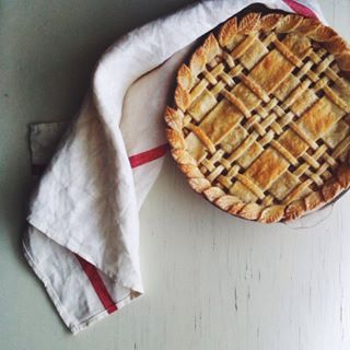 The A+ latticing on this pie.