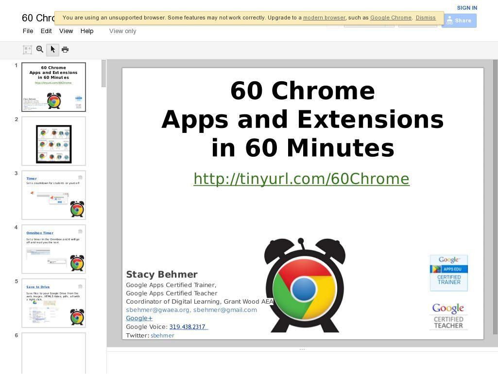 60 Chrome Extensions Chrome apps, Google education