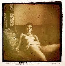 naked Frida nude kahlo