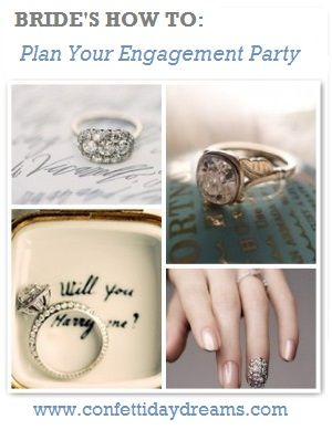 How to Plan Your Engagement Party {Wedding Planning Series Part 3}