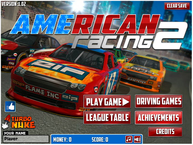 American Racing Is Back With More Events Bigger Crashes And Even More Cars To Race Against Flashgames Freegames Videog With Images Racing Games American Racing Racing
