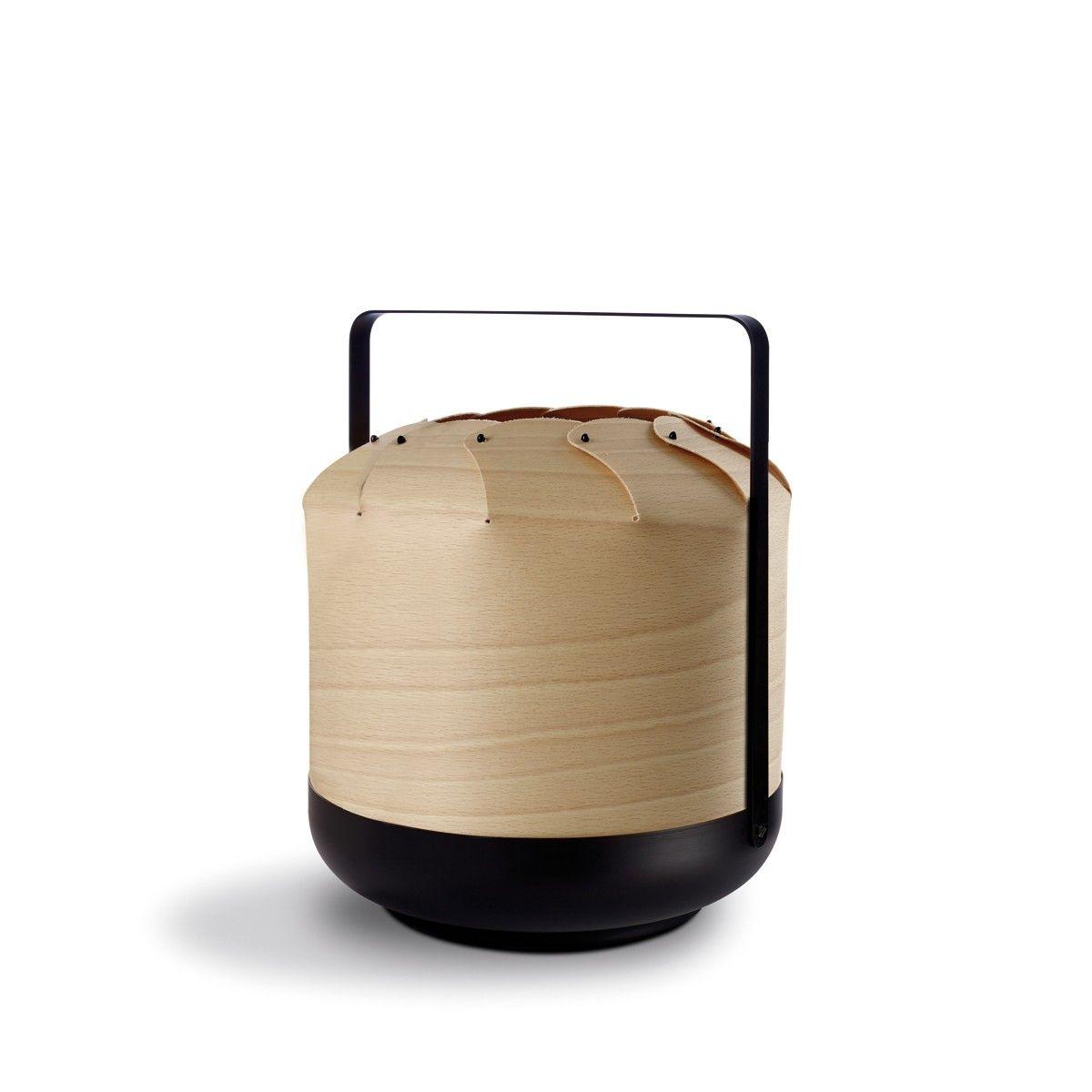 Lzf Lamps Chou Short Tischleuchte Buche Tischleuchte Leuchte Mit Bewegungsmelder Lampen Gunstig