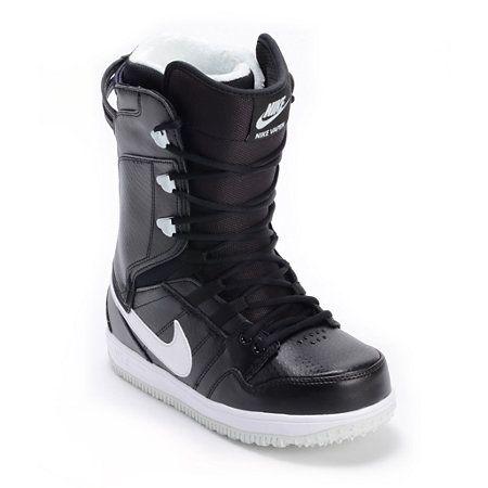 Nike Girls Vapen Black & White Snowboard Boots 2013