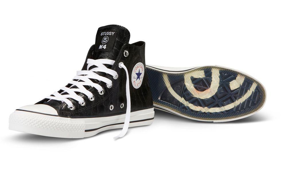 najlepsze podejście najlepszy hurtownik gładki Stüssy for Converse Chuck Taylor All Star Hi | Converse Love ...