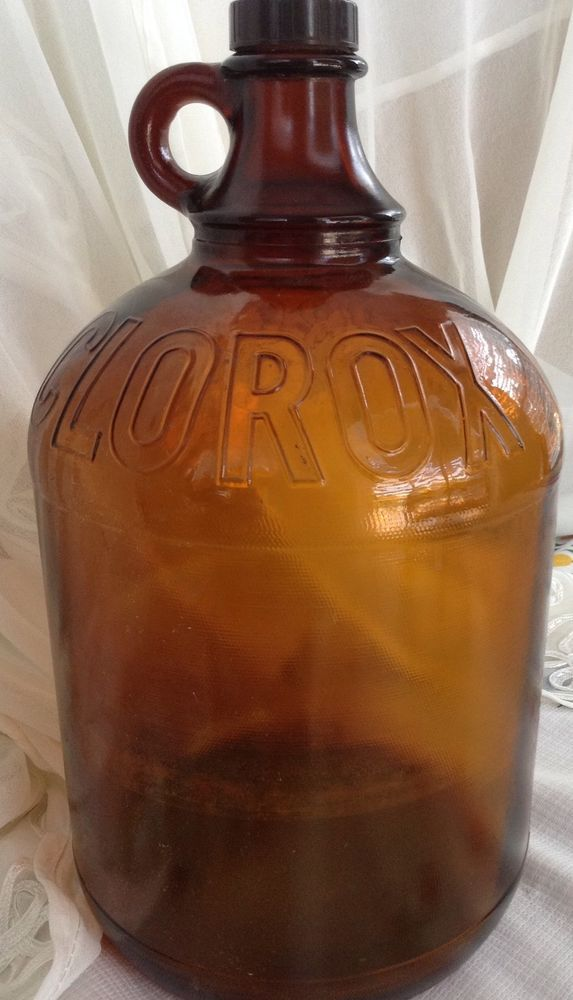 Antique Amber Apothecary Glass Bottle Vintage Brown Glass Etsy