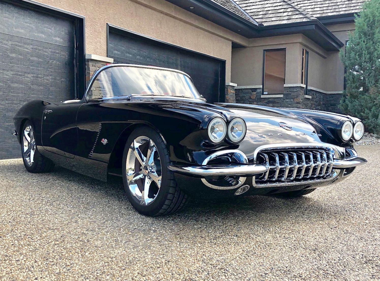 Custom 62 Corvette Roadster Classic Cars Old Corvette Chevy Muscle Cars