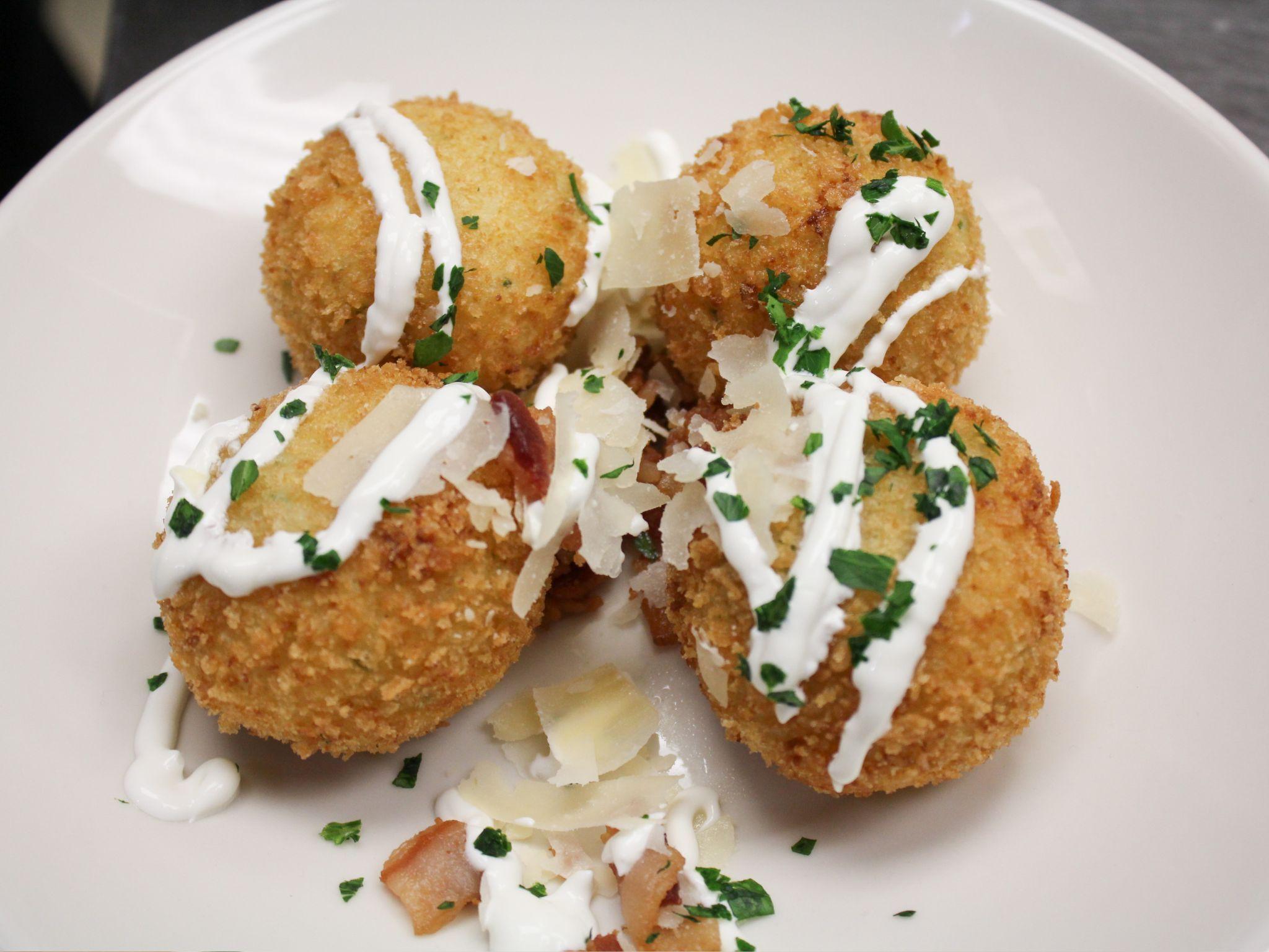 Baked potato croquettes recipe food network recipes