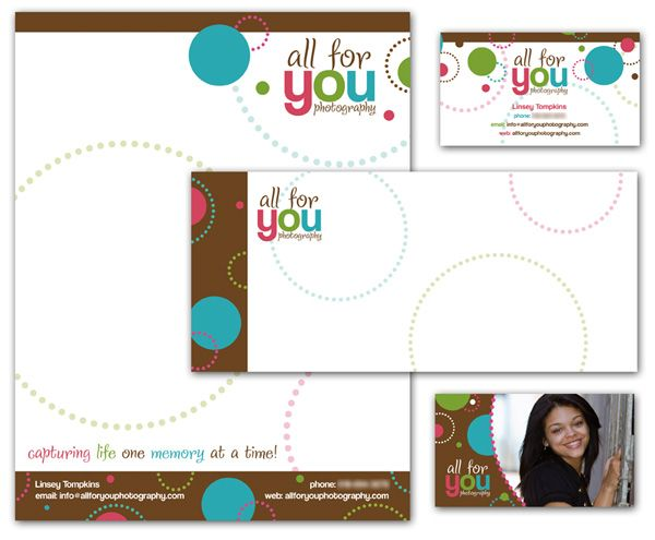 Circle marketing materials for photographers