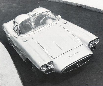 Chevrolet Corvette Xp 700 1958 In 2020 Chevrolet Corvette Concept Car Design Retro Cars