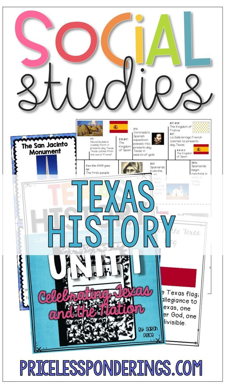 This Texas History interactive notebook is full of hands on ...