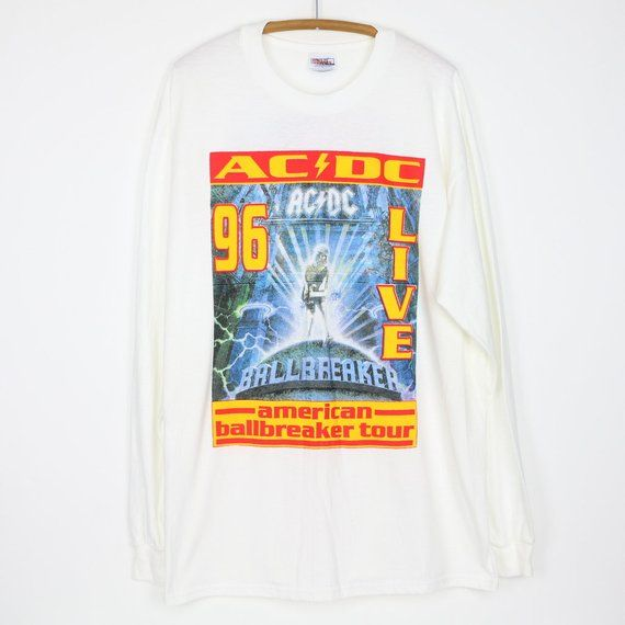 ACDC Official Ballbreaker Hard Rock Heavy Metal Tee T-Shirt Mens Ladies Unisex