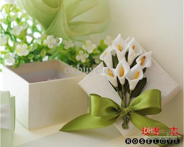 Ideas Calla Lily Wedding Favor Bo Bridal