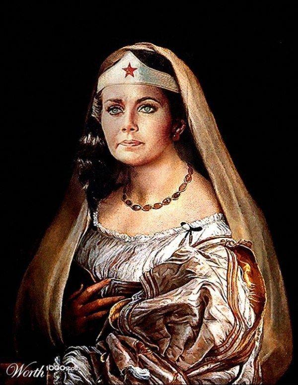 renaissance Wonder Woman